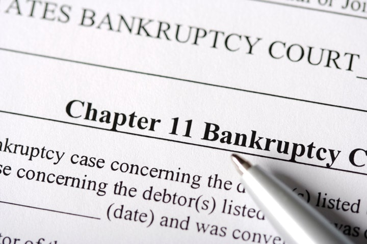 Chapter 11 Bankruptcy – Large Reorganization