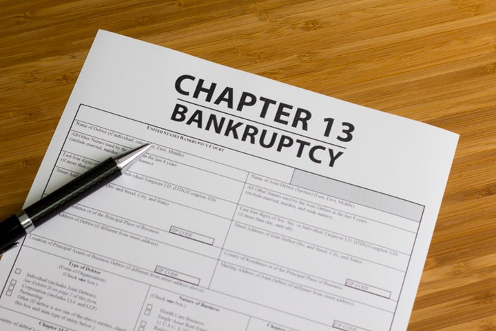 Chapter 13 Bankruptcy – Repayment Plan
