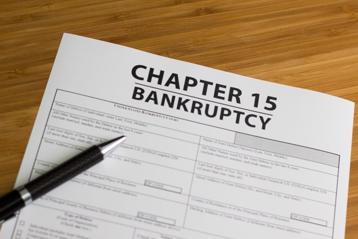 Chapter 15 Bankruptcy – Ancillary and Other Cross-Border Cases