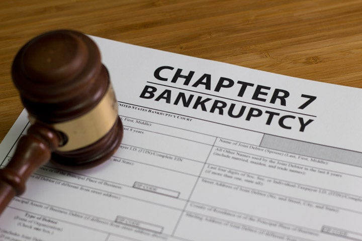Chapter 7 – Liquidation Bankruptcy