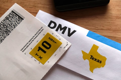 Texas Vehicle License Plate Laws