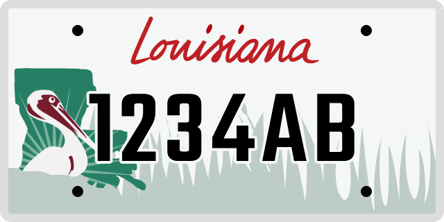 Louisiana License Plate Options