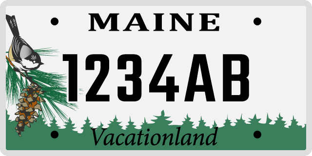 Maine License Plate Options & Specialty Plates