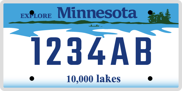 License Plate Options in Minnesota