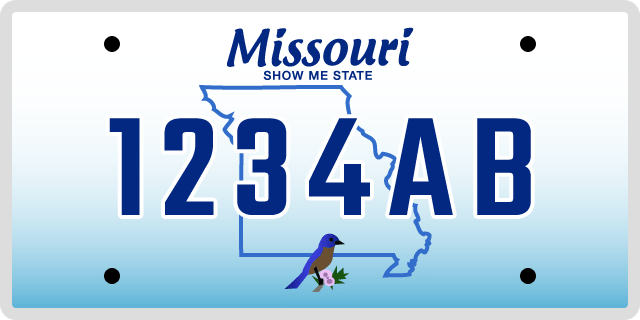 Missouri Specialty License Plate Options