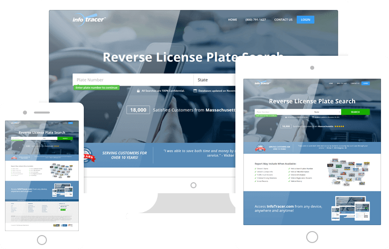 License Plate Lookup - Car Plate Number Records - InfoTracer
