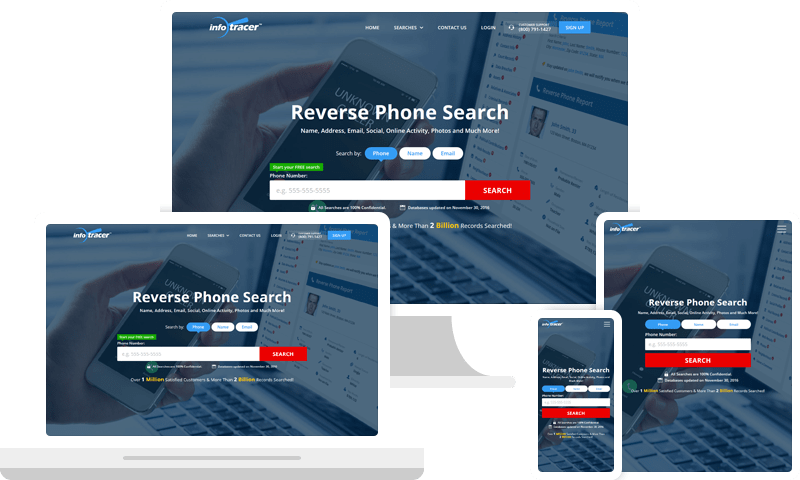 Phone Number Search - Reverse Phone Lookup - InfoTracer