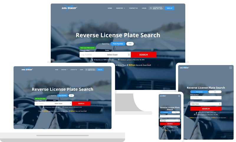 License Plate Search & Reverse Plate Number Lookup - InfoTracer