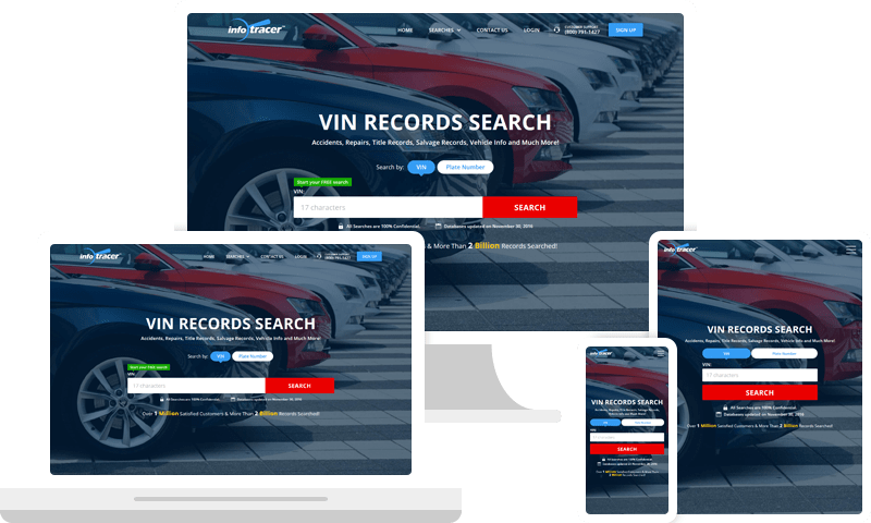 VIN Number Check and VIN Decoder Online - InfoTracer